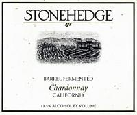 Stonehedge Chardonnay California